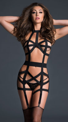 Photo of Leia Deliciously Playful Bodysuit @EX4.NL Exclusive Lingerie