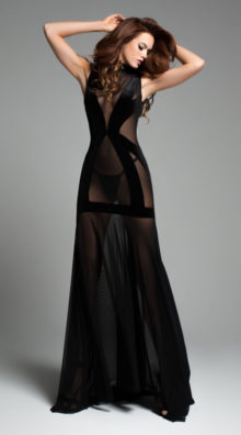 Photo of Chloe The Naked Dress @EX4.NL Exclusive Lingerie