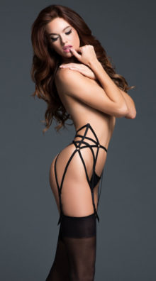 Photo of Leia The Audaciously Sexy Garter @EX4.NL Exclusive Lingerie