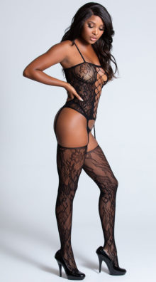 Photo of Lace Corset Front Bodystocking @EX4.NL Exclusive Lingerie