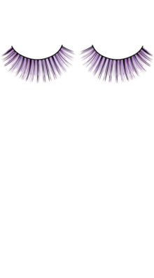 Photo of Black and Purple Deluxe Eyelashes @EX4.NL Exclusive Lingerie