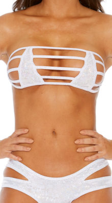 Photo of Strappy Bandeau with Nipple Covers @EX4.NL Exclusive Lingerie