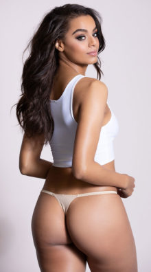 Photo of Ribbon Side Thong @EX4.NL Exclusive Lingerie