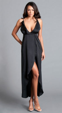 Photo of Asia Satin Gown @EX4.NL Exclusive Lingerie