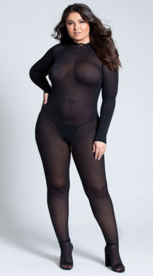 Photo of Plus Size Break The Rules Bodystocking @EX4.NL Exclusive Lingerie