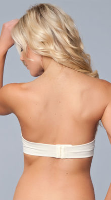 Photo of Embroidered Strapless Adhesive Bra @EX4.NL Exclusive Lingerie