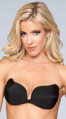 Photo of Scalloped Side Adhesive Bra @EX4.NL Exclusive Lingerie