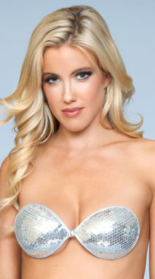 Photo of Sequin Lets Party Adhesive Bra @EX4.NL Exclusive Lingerie