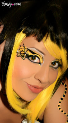 Photo of Bumble Bee Eyes @EX4.NL Exclusive Lingerie