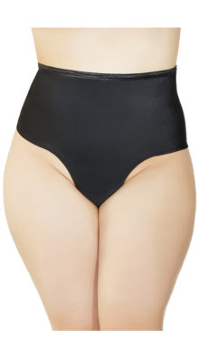 Photo of Plus Size High Waisted Thong @EX4.NL Exclusive Lingerie