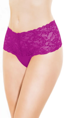 Photo of Lace High Waisted Thong @EX4.NL Exclusive Lingerie
