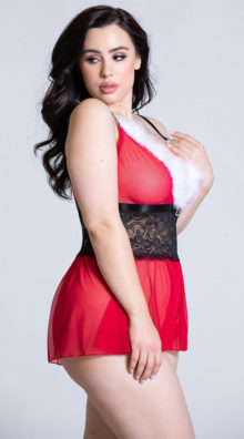 Photo of Plus Size Hot Helper Romper @EX4.NL Exclusive Lingerie