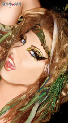 Photo of Cami Camouflage Eye Kit @EX4.NL Exclusive Lingerie