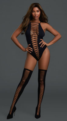 Photo of Criss-Cross Test Me Teddy Set @EX4.NL Exclusive Lingerie