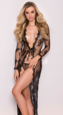 Photo of Delicate Lace Gown @EX4.NL Exclusive Lingerie