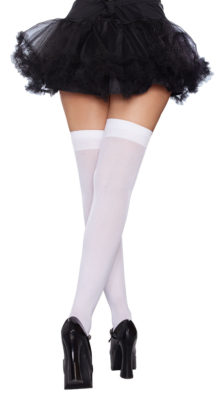 Photo of Bow Top Thigh Highs @EX4.NL Exclusive Lingerie