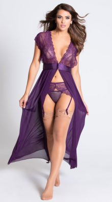 Photo of Locked Away Lover Lingerie Gown @EX4.NL Exclusive Lingerie