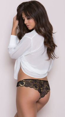 Photo of Cheeky Panty with Lace @EX4.NL Exclusive Lingerie