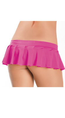 Photo of Pleated Micro Mini Skirt @EX4.NL Exclusive Lingerie