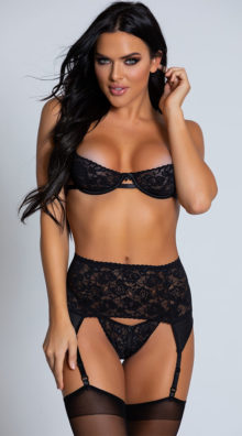 Photo of Red Room Lace Bra Set @EX4.NL Exclusive Lingerie