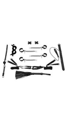 Photo of All Chained Up 6 Piece Bedspreader Set @EX4.NL Exclusive Lingerie