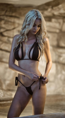 Photo of Cut-Out Micro String Bikini @EX4.NL Exclusive Lingerie
