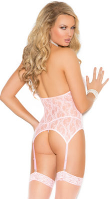 Photo of Three-Piece Lace Camisette Set @EX4.NL Exclusive Lingerie