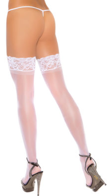 Photo of Plus Size Stay Up Thigh High Stockings @EX4.NL Exclusive Lingerie
