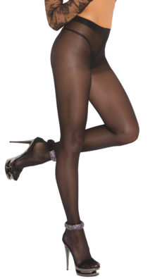 Photo of Sheer Black Pantyhose @EX4.NL Exclusive Lingerie