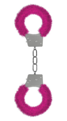 Photo of Furry Pink Handcuffs @EX4.NL Exclusive Lingerie