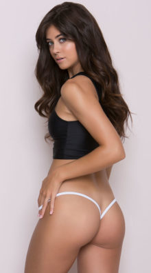 Photo of Basic Y-Back Thong @EX4.NL Exclusive Lingerie
