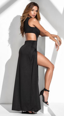 Photo of Strike A Pose Maxi Dress @EX4.NL Exclusive Lingerie