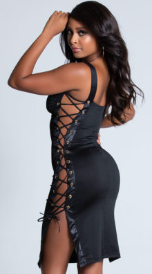 Photo of Lovestruck Lace-Up Dress @EX4.NL Exclusive Lingerie