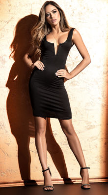 Photo of First Date Bodycon Dress @EX4.NL Exclusive Lingerie