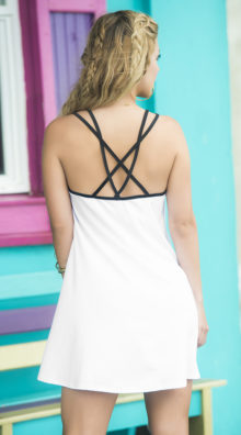 Photo of Modern Abstract Sundress @EX4.NL Exclusive Lingerie