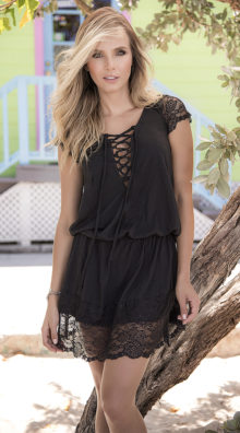 Photo of Draping Lacy Summer Dress @EX4.NL Exclusive Lingerie