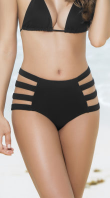 Photo of Strappy High-Waisted Bikini Bottom @EX4.NL Exclusive Lingerie