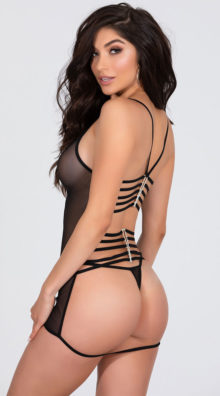 Photo of Strappy Back Mesh Babydoll @EX4.NL Exclusive Lingerie
