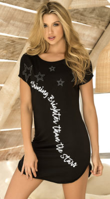 Photo of Shining Brighter Sleep Shirt @EX4.NL Exclusive Lingerie