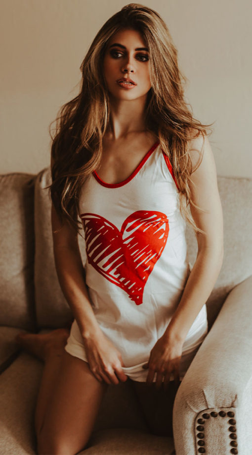 Photo of Romantic Hearts Nightgown @EX4.NL Exclusive Lingerie