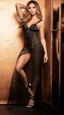 Photo of Nameless Beauty Lingerie Gown Set @EX4.NL Exclusive Lingerie