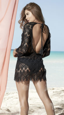 Photo of Frayed Net Cover-Up @EX4.NL Exclusive Lingerie