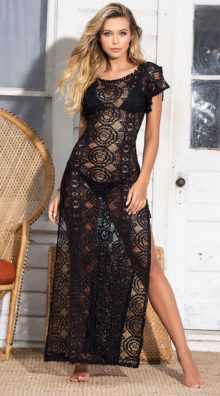 Photo of Beach House Cover-Up Maxi Dress @EX4.NL Exclusive Lingerie