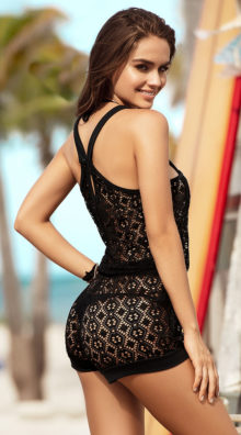 Photo of Island Life Romper Cover-Up @EX4.NL Exclusive Lingerie