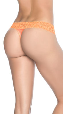 Photo of Most Loved Lace Thong @EX4.NL Exclusive Lingerie