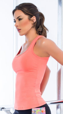 Photo of Wide Back Jersey Tank Top @EX4.NL Exclusive Lingerie