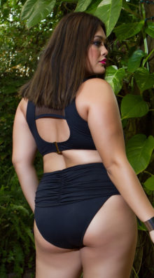 Photo of EX4 Plus Size Ruched Perfection Bikini Bottom @EX4.NL Exclusive Lingerie