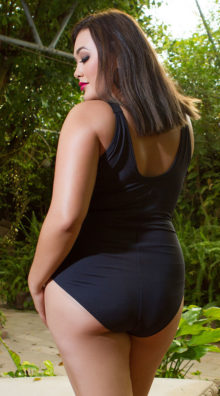 Photo of EX4 Plus Size Simple Discovery One Piece Swimsuit @EX4.NL Exclusive Lingerie