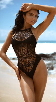 Photo of EX4 Bayberry Beauty Monokini @EX4.NL Exclusive Lingerie