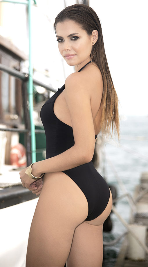 Photo of EX4 Sophisticated Embellished One Piece Swimsuit @EX4.NL Exclusive Lingerie